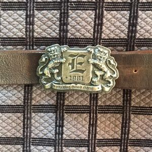 Men's Pewter Belt Buckle